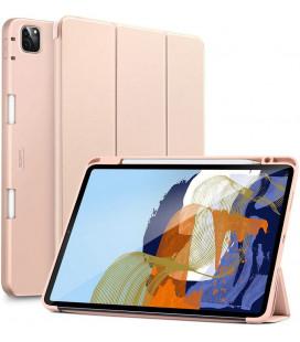 """Rausvai auksinės spalvos atverčiamas dėklas Apple iPad Pro 11 2021 planšetei """"ESR Rebound Pencil"""""""