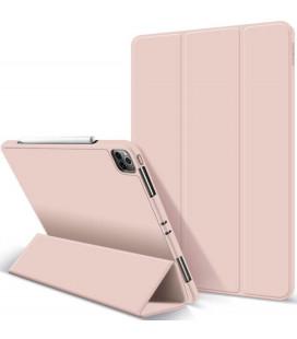"""Rožinis atverčiamas dėklas Apple iPad Pro 12.9 2021 planšetei """"Tech-Protect SC Pen"""""""