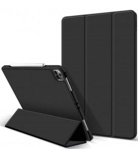"""Juodas atverčiamas dėklas Apple iPad Pro 12.9 2021 planšetei """"Tech-Protect SC Pen"""""""
