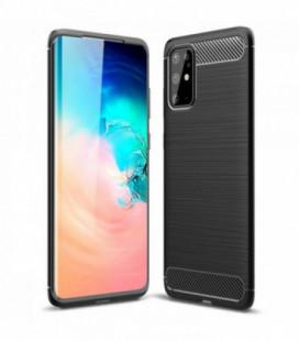 Dėklas Carbon Lux Samsung A716 A71 5G juodas