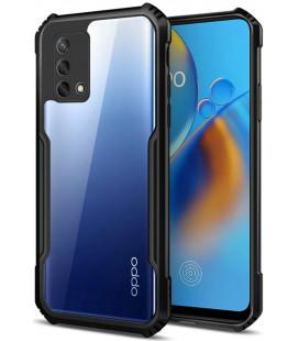 "Juodas dėklas Oppo A54 5G / A74 5G telefonui ""Tech-Protect Beetle"""