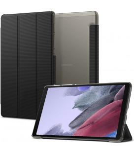 """Juodas atverčiamas dėklas Samsung Galaxy Tab A7 Lite 8.7 T220 / T225 planšetei """"Spigen Liquid Air Folio"""""""
