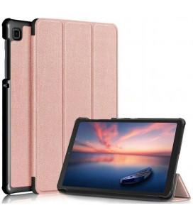 """Rausvai auksinės spalvos atverčiamas dėklas Samsung Galaxy Tab A7 Lite 8.7 T220 / T225 planšetei """"Tech-Protect Smartcase"""""""
