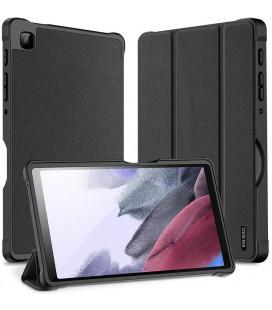 """Juodas atverčiamas dėklas Samsung GALAXY TAB A7 Lite 8.7 T220 / T225 planšetei """"Dux Ducis Domo"""""""