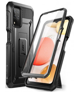 """Juodas dėklas Samsung Galaxy A12 2020 / 2021 telefonui """"Supcase Unicorn Beetle Pro"""""""