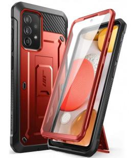 """Raudonas dėklas Samsung Galaxy A52 LTE/5G telefonui """"Supcase Unicorn Beetle Pro"""""""