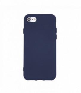Dėklas Rubber TPU Samsung A725 A72 tamsiai mėlynas