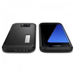 """Raudonas atverčiamas dėklas Samsung Galaxy J5 telefonui """"Telone Vertical POCKET"""""""
