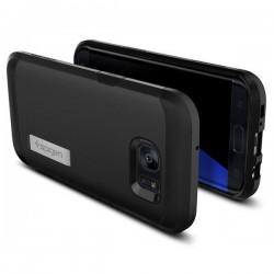 """Grafito spalvos atverčiamas dėklas Samsung Galaxy J5 telefonui """"Telone Vertical POCKET"""""""