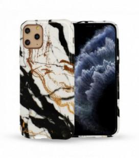 Dėklas Marble Silicone Huawei P30 Lite Design 3