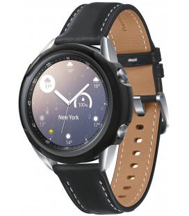 """Juodas dėklas Samsung Galaxy Watch 3 41mm laikrodžiui """"Spigen Liquid Air"""""""