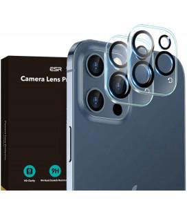 """Skaidrus apsauginis grūdintas stiklas Apple iPhone 12 Pro Max telefono kamerai apsaugoti """"ESR Camera Lens"""""""