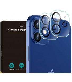 """Skaidrus apsauginis grūdintas stiklas Apple iPhone 12 telefono kamerai apsaugoti """"ESR Camera Lens"""""""