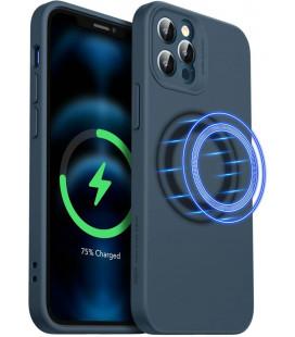 "Mėlynas dėklas Apple iPhone 12 Pro Max telefonui ""ESR Cloud Soft Magsafe"""