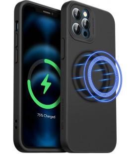 "Juodas dėklas Apple iPhone 12 Pro Max telefonui ""ESR Cloud Soft Magsafe"""