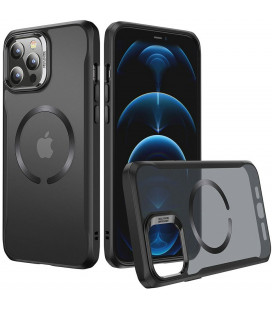 """Juodas dėklas Apple iPhone 12 Pro Max telefonui """"ESR CH Halolock Magsafe"""""""