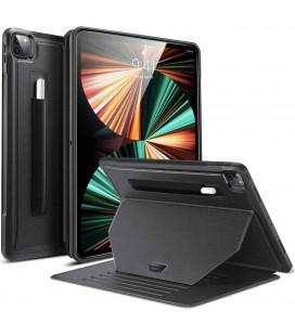 """Juodas atverčiamas dėklas Apple iPad Pro 12.9 2021 planšetei """"ESR Sentry Stand"""""""