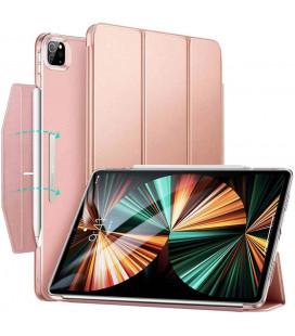 """Rausvai auksinės spalvos atverčiamas dėklas Apple iPad Pro 12.9 2021 planšetei """"ESR Ascend Trifold"""""""