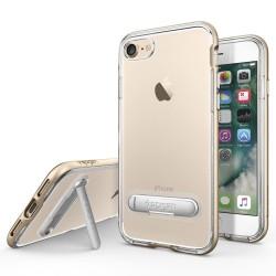 "Auksinės spalvos dėklas Apple iPhone 7 telefonui ""Spigen Crystal Hybrid"""