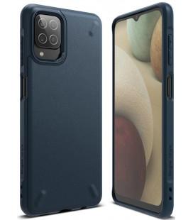 """Mėlynas dėklas Samsung Galaxy A12 2020 / 2021 telefonui """"Ringke Onyx"""""""