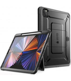 """Juodas dėklas Apple iPad Pro 12.9 2021 planšetei """"Supcase Unicorn Beetle Pro"""""""