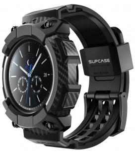 """Juodas dėklas Samsung Galaxy Watch 3 (45mm) laikrodžiui """"Supcase Unicorn Beetle Pro"""""""