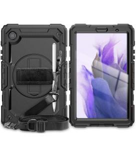 "Juodas dėklas Samsung Galaxy A7 Lite 8.7 T220/T225 planšetei ""Tech-Protect Solid360"""