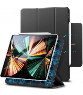 """Juodas atverčiamas dėklas Apple iPad Pro 12.9 2020/2021 planšetei """"ESR Rebound Magnetic"""""""