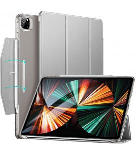 """Pilkas atverčiamas dėklas Apple iPad Pro 12.9 2021 planšetei """"ESR Ascend Trifold"""""""