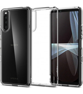 "Skaidrus dėklas Sony Xperia 10 III telefonui ""Spigen Ultra Hybrid"""