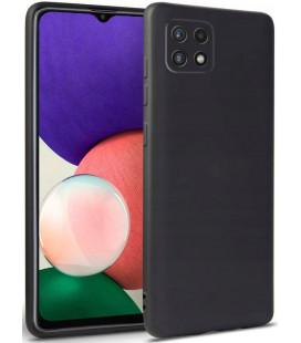 """Juodas dėklas Samsung Galaxy A22 5G telefonui """"Tech-protect Icon"""""""