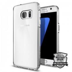 "Skaidrus dėklas Samsung Galaxy S7 G930 telefonui ""Spigen Ultra Hybrid"""