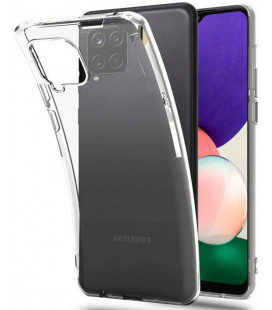 "Skaidrus dėklas Samsung Galaxy A22 / M22 4G/LTE telefonui ""Tech-Protect Flexair"""