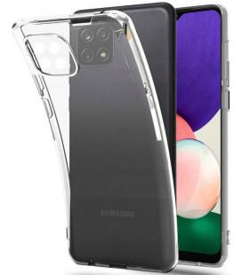 "Skaidrus dėklas Samsung Galaxy A22 5G telefonui ""Tech-Protect Flexair"""