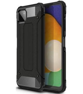 """Juodas dėklas Samsung Galaxy A22 5G telefonui """"Tech-Protect Xarmor"""""""