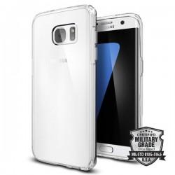 "Skaidrus dėklas Samsung Galaxy S7 Edge telefonui ""Spigen Ultra Hybrid"""
