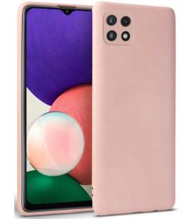 """Rožinis dėklas Samsung Galaxy A22 5G telefonui """"Tech-protect Icon"""""""