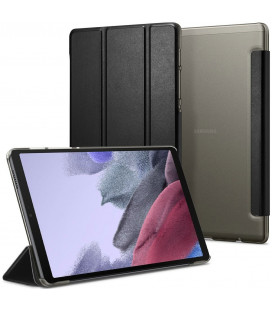 """Juodas atverčiamas dėklas Samsung Galaxy A7 Lite 8.7 T220 / T225 planšetei """"Spigen Smart Fold"""""""