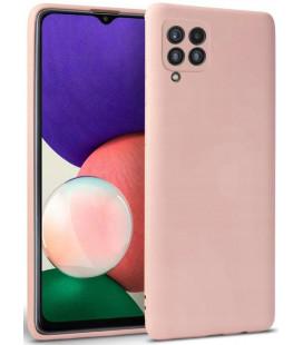 """Rožinis dėklas Samsung Galaxy A22 / M22 4G/LTE telefonui """"Tech-protect Icon"""""""