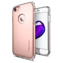 """Rausvai auksinės spalvos dėklas Apple iPhone 7 telefonui """"Spigen Hybrid Armor"""""""