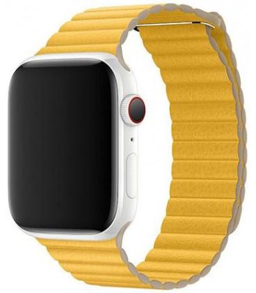"Apyrankė Apple Watch 44mm laikrodžiui ""MXAD2ZM/A Meyer Leather Loop"""