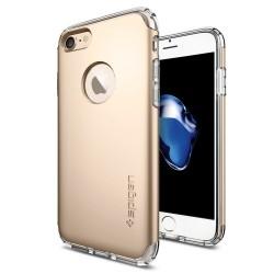 """Auksinės spalvos dėklas Apple iPhone 7 telefonui """"Spigen Hybrid Armor"""""""