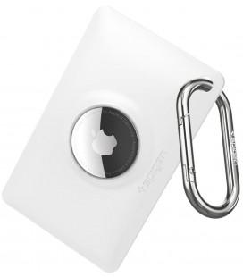 """Baltas dėklas Apple Airtag """"Spigen Air Fit"""""""