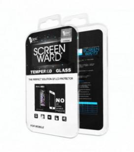 LCD apsauginis stikliukas Adpo 5D Full Glue iPhone 7 lenktas baltas