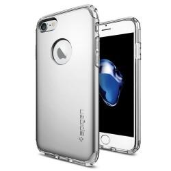 """Sidabrinės spalvos dėklas Apple iPhone 7 telefonui """"Spigen Hybrid Armor"""""""