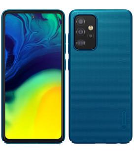 "Mėlynas dėklas Samsung Galaxy A52 / A52 5G / A52s 5G telefonui ""Nillkin Frosted Shield"""