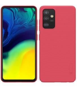 "Raudonas dėklas Samsung Galaxy A52 / A52 5G / A52s 5G telefonui ""Nillkin Frosted Shield"""