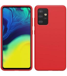 """Raudonas dėklas Samsung Galaxy A52 / A52 5G / A52s 5G telefonui """"Nillkin Flex Pure Liquid Silicone Cover"""""""