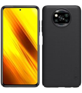 """Juodas dėklas Xiaomi Poco X3 NFC / X3 Pro telefonui """"Nillkin Frosted Shield"""""""