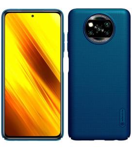 """Mėlynas dėklas Xiaomi Poco X3 NFC / X3 Pro telefonui """"Nillkin Frosted Shield"""""""